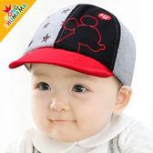 嬰兒帽子0-3-6-12個月網眼帽男女寶寶帽鴨舌帽春秋夏季防曬遮陽帽