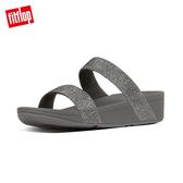 FitFlop】LOTTIE GLITZY SLIDES 經典水鑽涼鞋-女(錫色)
