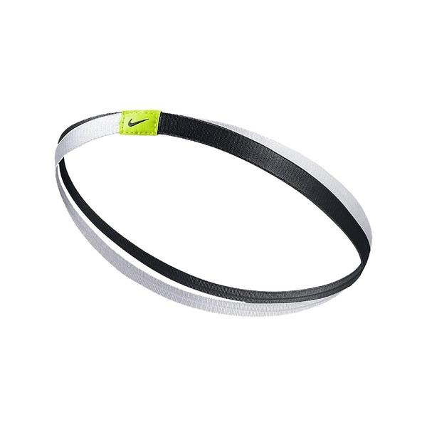 Nike 頭帶 Satin Twist Headband 黑 白 女款 髮帶 運動 【PUMP306】 AC3713-010