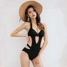 特惠連身泳裝 連體游泳衣女夏2021年新款時尚遮肚顯瘦性感超暴露小胸聚攏比基尼