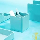 小清新筆筒筆座桌面收納辦公文具盒【雲木雜貨】