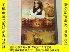 二手書博民逛書店FINDING罕見MIRACLES 尋找奇蹟(英文原版)Y199