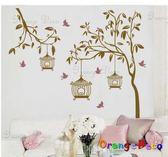 壁貼【橘果設計】幸福的街燈 DIY組合壁貼/牆貼/壁紙/客廳臥室浴室幼稚園室內設計裝潢
