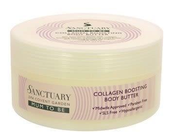 *禎的家*英國 Sanctuary 聖活泉 - 媽咪系列  身體奶油霜 300ml Collagen Boosting Body Butter 出清特賣