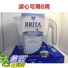 (含1組濾心) Brita濾水壺 (3500CC) #987584八周 圓形濾心