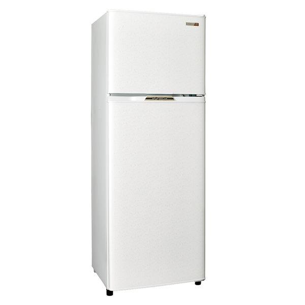 SAMPO 聲寶250L經典品味雙門電冰箱SR-L25G(W2)典雅白