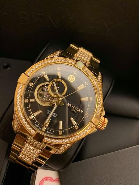 BENTLEY 賓利 奢華機械腕錶