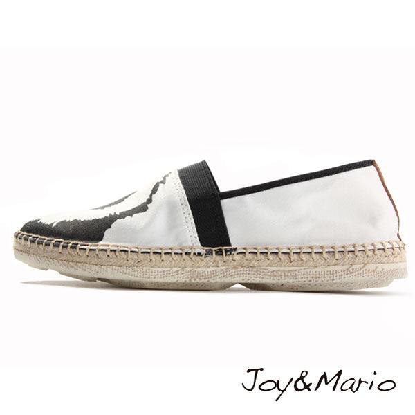 【Joy&Mario】可愛熊貓塗鴉休閒鞋 - 03007W PANDA 美碼9