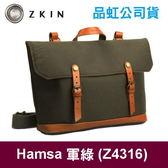 ZKIN Hamsa 側背相機包 攝影包 軍綠 Z4316 尼龍材質 可放1鏡1鏡和平板 類單眼 小單眼適用 品虹公司貨