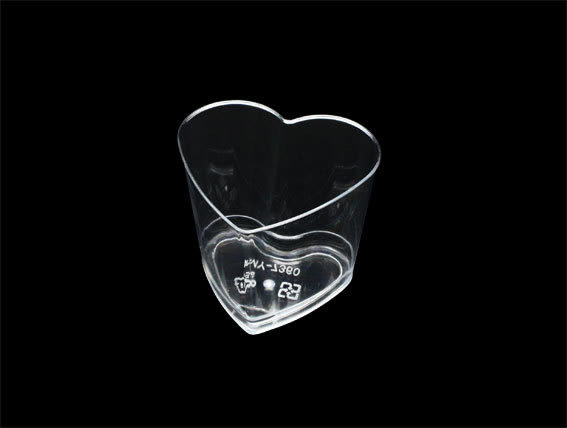 10入 150cc 愛心杯 婚禮小物杯  附蓋  D7360