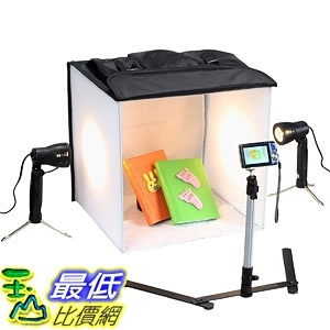 [7美國直購] 行動攝影棚 3085 Square Perfect Professional Quality 16 Inch Studio In a Box Light Tent