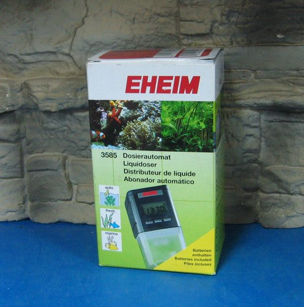【西高地水族坊】德國EHEIM 液體自動餵食器(保證紳堡公司貨)(最新款)