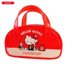 【震撼精品百貨】Hello Kitty 凱蒂貓~HELLO KITTY防水小提袋-打電話圖案-紅色