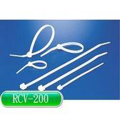 KSS 可退式紮線帶 RCV-200 (白色)