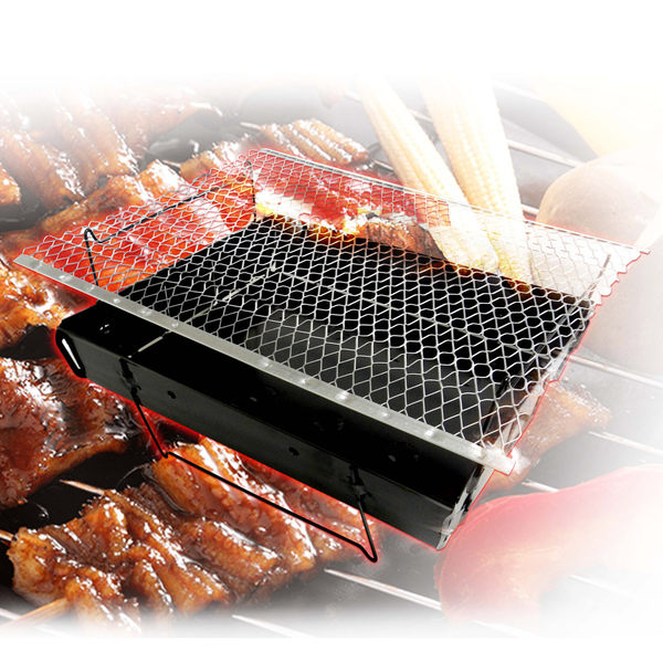 金德恩 台灣製造 一組 專利產品折疊拋棄式烤肉爐/燒烤/中秋節/露營/烤肉