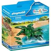 playmobil 動物園-鱷魚_PM70358