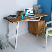 IHouse-DIY 荷米斯 熱銷三抽置物電書桌/工作桌