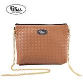 【新款到貨】泰國Bliss BKK包 素色編織紋咖啡 4款背帶可選 現貨供應中
