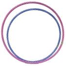 8號 呼拉圈 一般雙色呼啦圈 (紅白色)/一件60個入(促60) 直徑63cm 表演大會操用呼拉圈 台灣製造-群