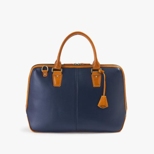 【父親節禮物】TRANSIC 真皮高質感男用手提包商用包