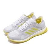 【六折特賣】adidas 慢跑鞋 FOCUS BreatheIn 灰 黃 女鞋 輕量設計 運動鞋【ACS】 EG1096