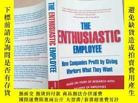 二手書博民逛書店the罕見enthusiastic employee(英文版)Y