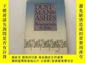 二手書博民逛書店DUST-MAN罕見TO ASHESY189174