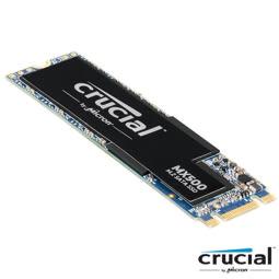 美光 Micron Crucial MX500 250GB ( M.2 Type 2280SS ) SSD