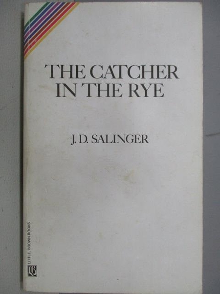 【書寶二手書T3/原文小說_FSB】The Catcher in the Rye_J.D.Salinger