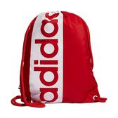 Adidas- 超大圖形背袋包(紅色)