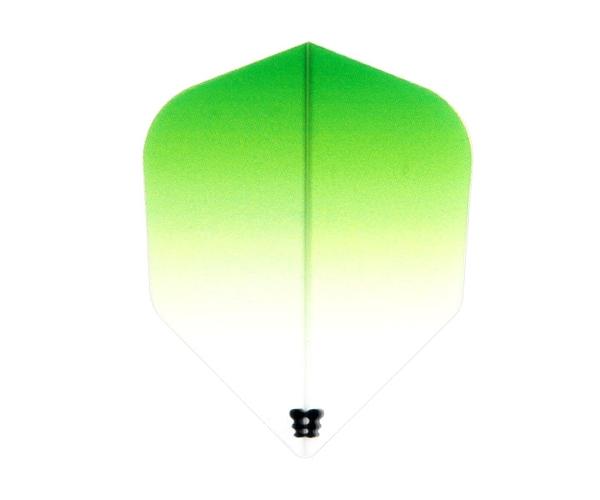 【Bricolage】Gradation Flight Type 1 Shape Green 鏢翼 DARTS