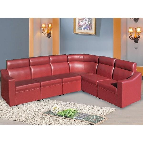 沙發 L型皮沙發 AT-683-5 L3型KTV高背沙發 (可左右擺放) 【大眾家居舘】