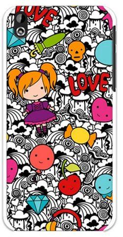 ♥ 俏魔女美人館 ♥ HTC Desire 816 / 816 dual【Q妹*水晶硬殼】保護殼 保護套