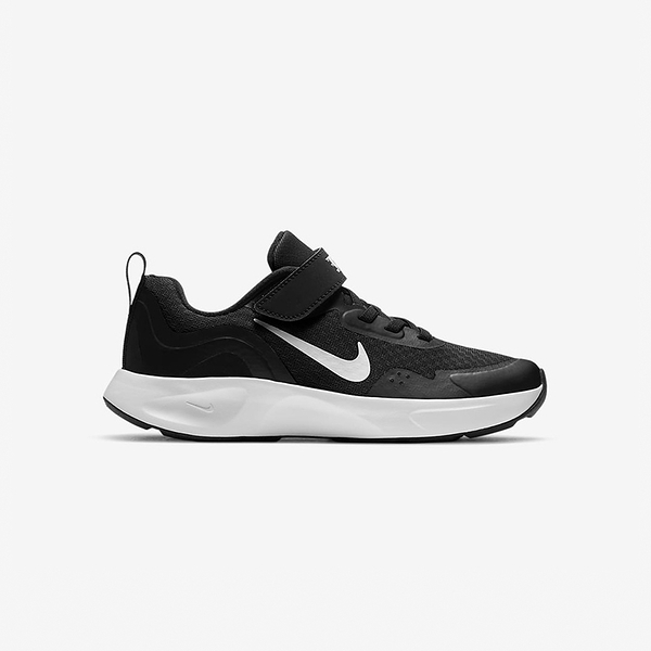 Nike Wearellday (PS) 中童 黑 運動 緩震 包覆 魔鬼氈 休閒 慢跑鞋 CJ3817-002