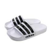 adidas ADILETTE SHOWER 拖鞋 防水 白色 男鞋 AQ1702 no656