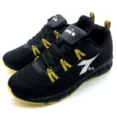 《7+1童鞋》男段 DIADORA 迪亞多納 網布透氣 運動鞋 慢跑鞋 義大利國寶鞋 E298 黑色