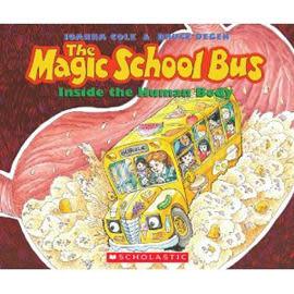 【麥克書店】THE MAGIC SCHOOL BUS:INSIDE THE HUMAN BODY  /英文繪本附CD《自然科學》(中譯:魔法校車)