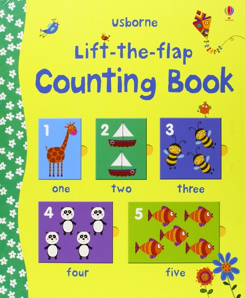 Lift-The-Flap Counting Book 翻翻學習書:數一數 精裝本