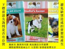 二手書博民逛書店The罕見puppy collection:Cricket s close call+Houdini s Esca