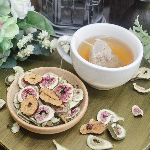 菓心草本御果茶10入(三角茶包)無花果紅棗茶【菓青市集】