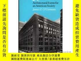 二手書博民逛書店H.h.罕見Richardson: Architectural Forms For An American Soc