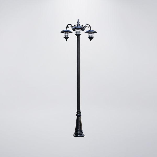 倒釣戶外庭園燈 三燈防水型 可客製化 可搭配LED