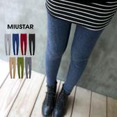 現貨-MIUSTAR 台灣製雙刷毛超保暖九分/踩腳內搭褲(共7色)【NE4498RE】