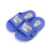 救援小英雄 POLI波力套式拖鞋 藍 POKS71036 大小童鞋 鞋全家福