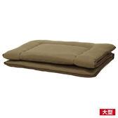 ★純棉素雅日式床墊 6×6尺 雙人加大 NITORI宜得利家居