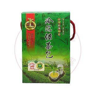 天然冷泡綠茶包(3公克*30包/盒)– 佳芳茶園