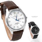 范倫鐵諾˙古柏 羅馬數字皮革錶 【NEV43】原廠公司貨