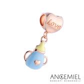 Angemiel安婕米 925純銀珠飾  Dream童話系列 奶瓶 吊飾