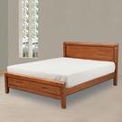 床架【時尚屋】[G17]瑪亞5尺雙人床G17-A072-1不含床墊/免運費/免組裝/臥室系列