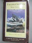 【書寶二手書T2/原文小說_GUV】Frankenstein_Shelley, Mary Wollstonecraft/ Hunter, J. Paul (EDT)